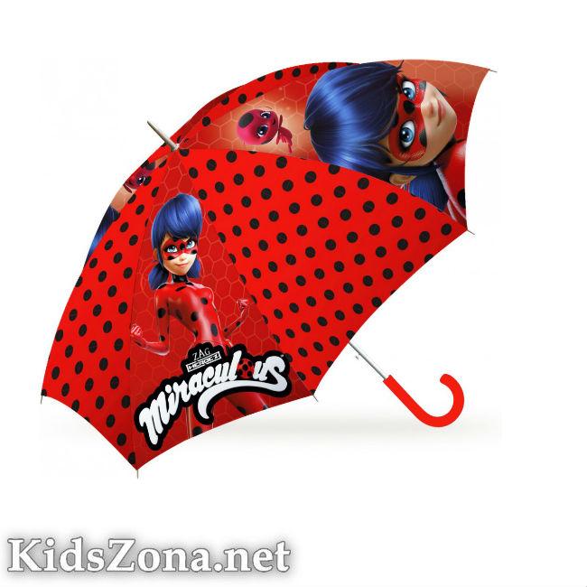 Детски чадър - полуавтоматичен М5