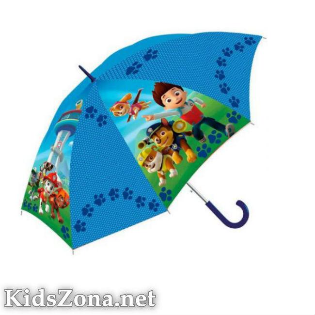 Детски чадър - полуавтоматичен М4