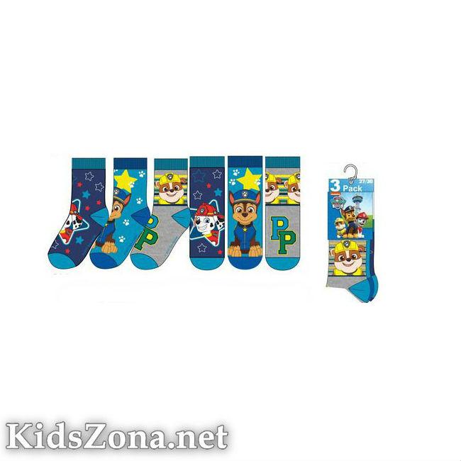 Детски чорапи Paw Patrol 3бр. - М4
