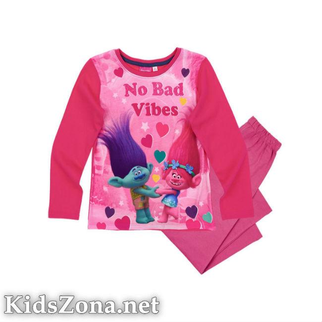 Детска пижама Trolls д. ръкав - M3