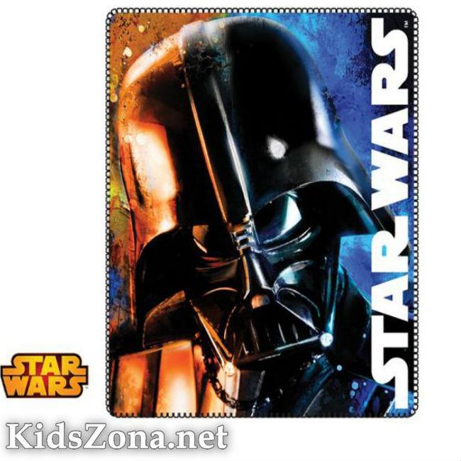 Детско одеяло Star Wars полар - М8