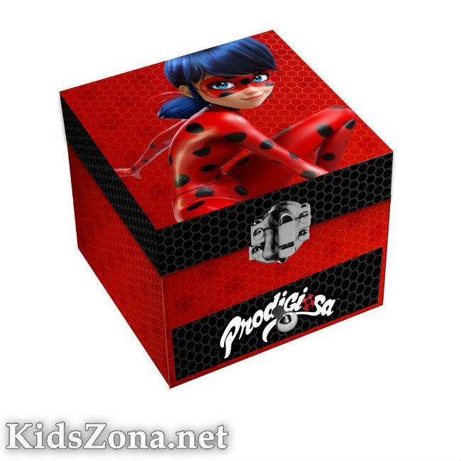 Кутия за бижута Калинката - М1