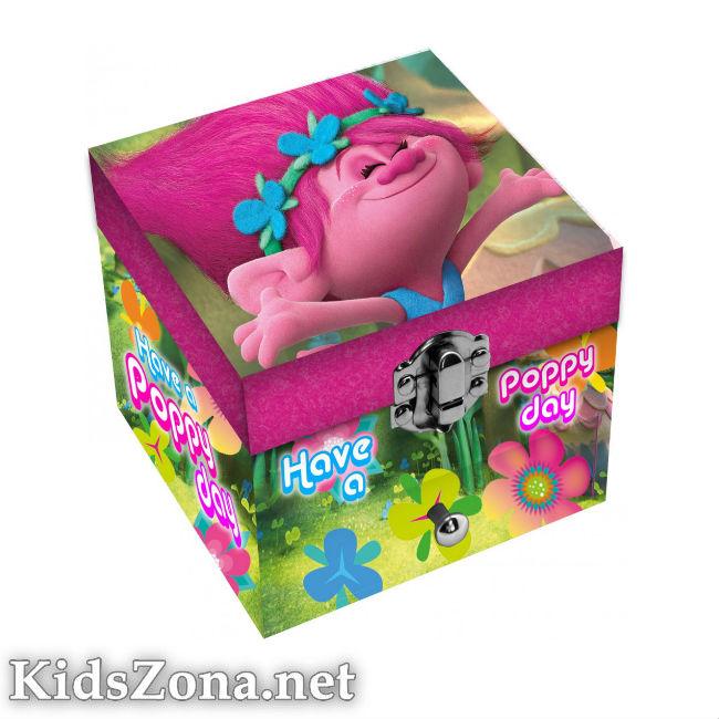 Кутия за бижута Тролчета - М1