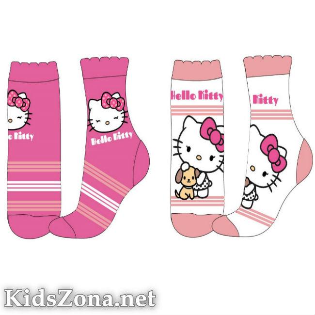 Детски чорапи Hello Kitty 2бр. - M1