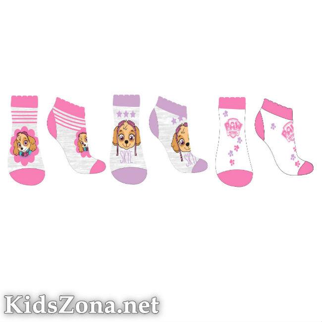 Детски чорапи Paw Patrol girls 3бр. - М4