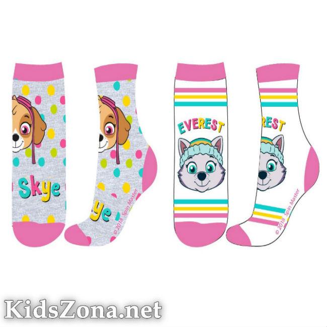 Детски чорапи Paw Patrol girls 2бр. - М3