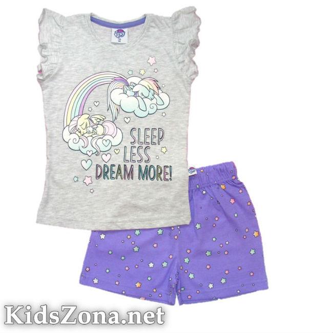 Детска пижама к. р. My Little Pony - М1