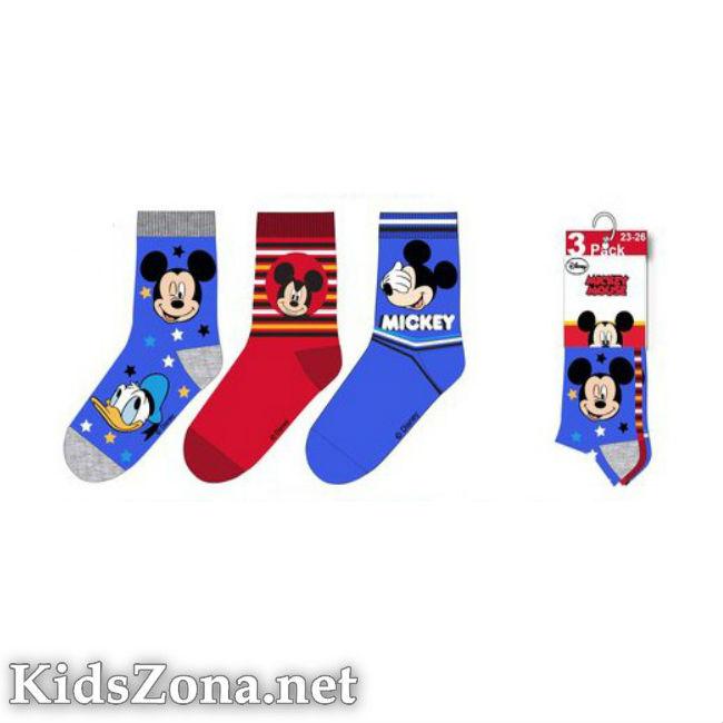 Детски чорапи Мики Маус 3бр. - М2