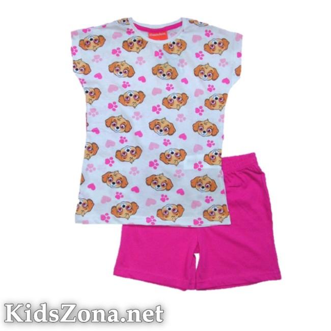 Детска пижама к. р. Paw Patrol girls - M7