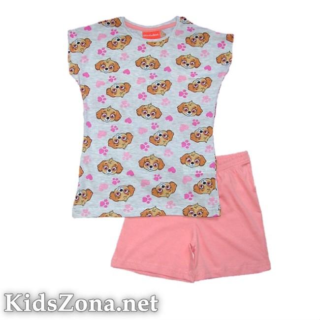 Детска пижама к. р. Paw Patrol girls - M8