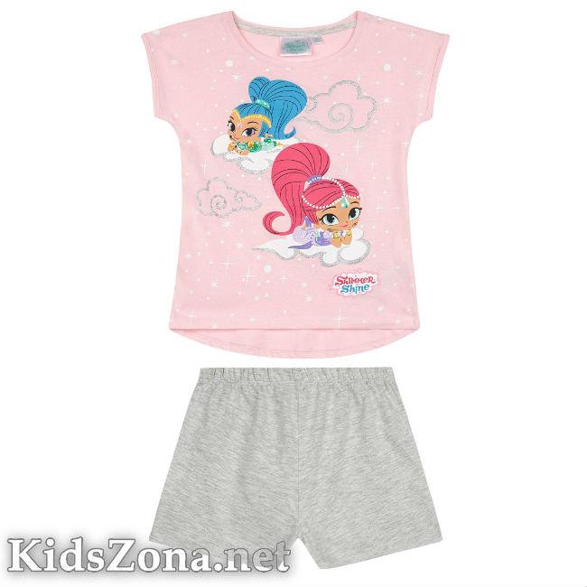 Детска пижама к. р. Искрица и Сияйница - М3
