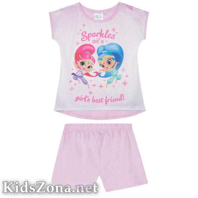 Детска пижама к. р. Искрица и Сияйница - М1
