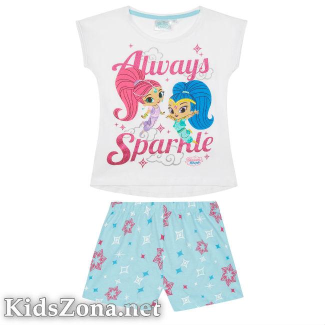 Детска пижама к. р. Искрица и Сияйница - М2