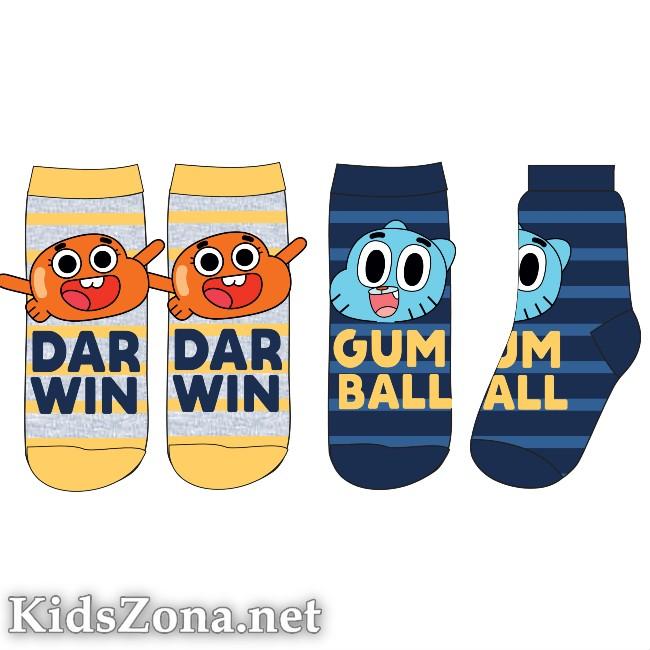 Детски чорапи Gumball 2бр. - М1