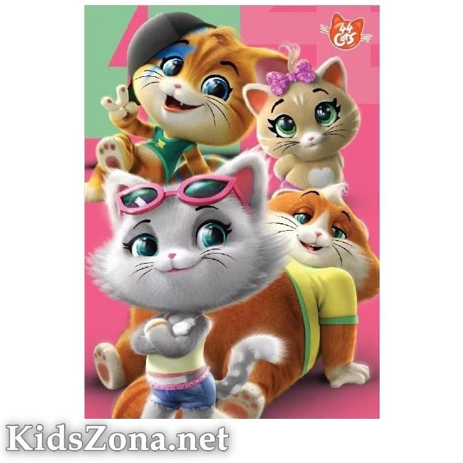 Детско одеяло 44 Cats - M2