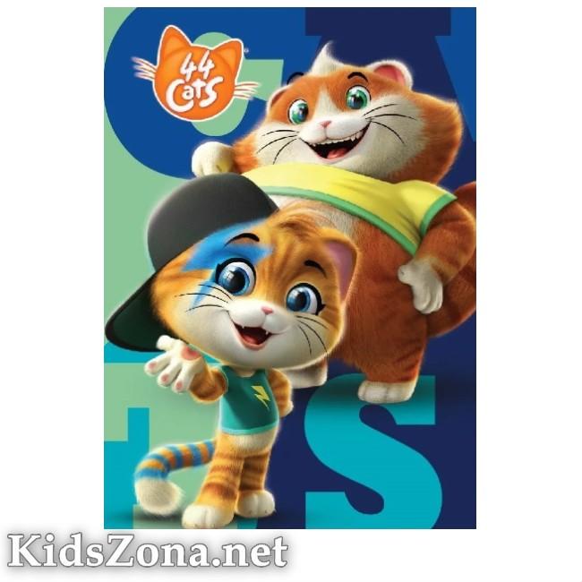 Детско одеяло 44 Cats - M1