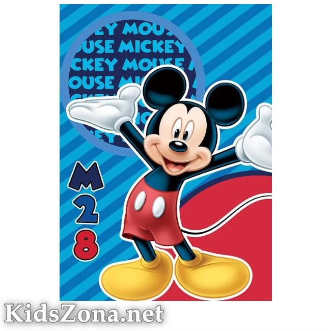 Детско одеяло Мики Маус - М5