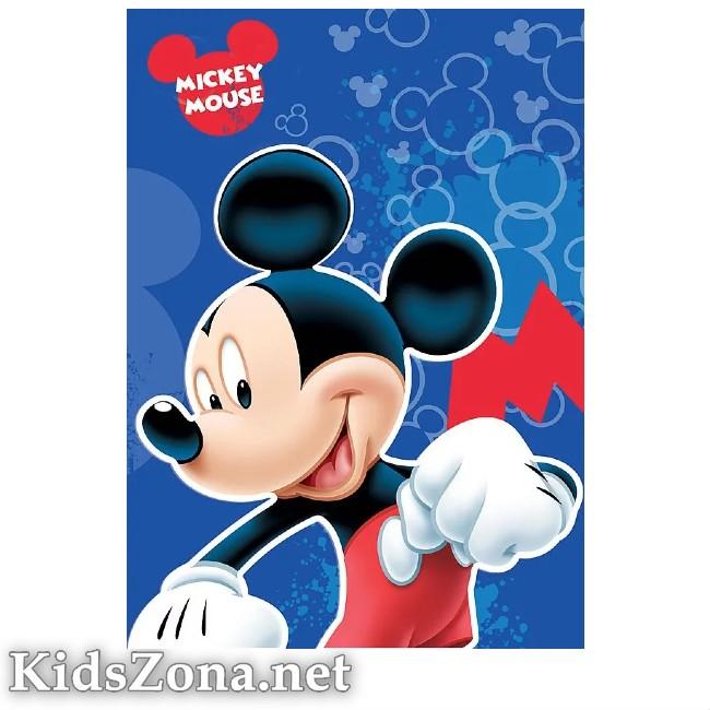 Детско одеяло Мики Маус - М6