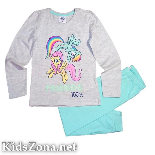 Детска пижама My little pony д. ръкав - M6