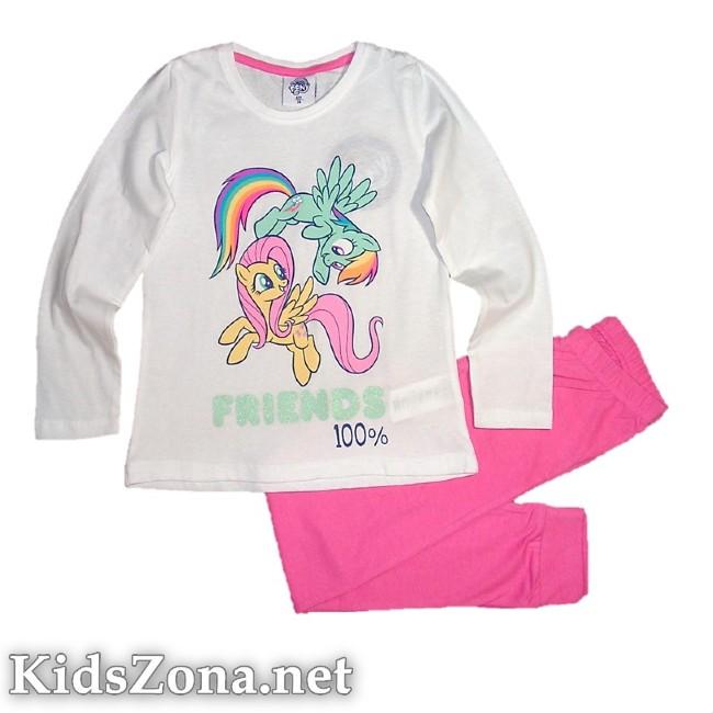 Детска пижама My little pony д. ръкав - M7
