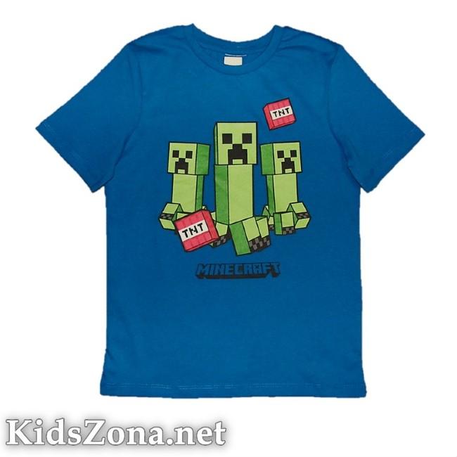 Детска тениска Minecraft - M1