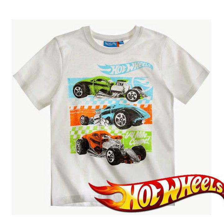 Детска тениска Hot wheels
