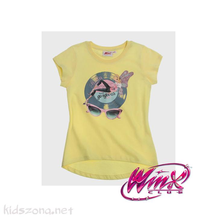 Детска тениска Winx club - къс ръкав