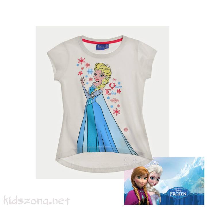 Детска тениска Frozen - къс ръкав
