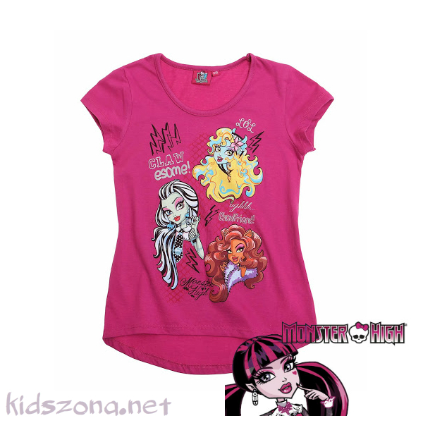 Детска тениска Monster high - M1