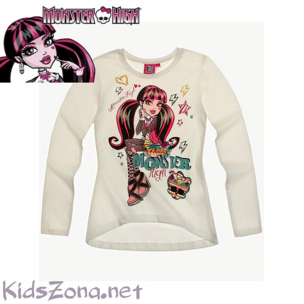 Детска блуза дълъг ръкав Monster high-M06