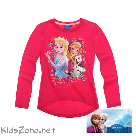 Детска блуза дълъг ръкав Frozen - M1