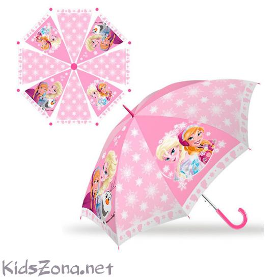 Полуавтоматичен чадър Frozen - M3