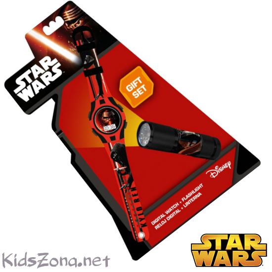 Часовник + LED Фенерче Star Wars