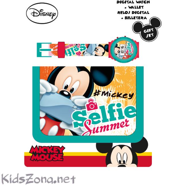 Ръчен часовник с портмоне Mickey