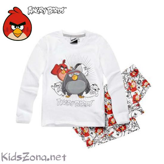 Детска пижама за момче Angry Birds - M3
