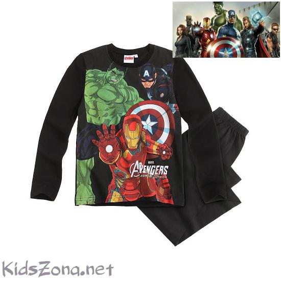 Детска пижама Avengers - M01