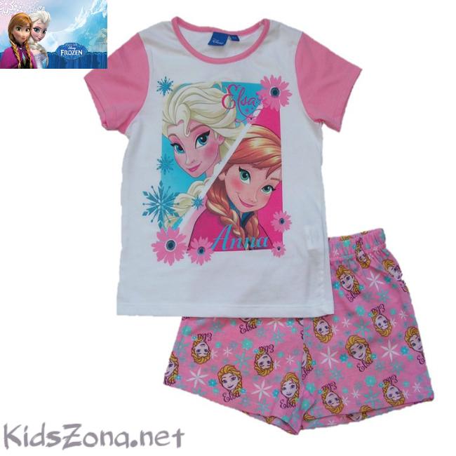 Детска пижама Frozen к.р. - М02