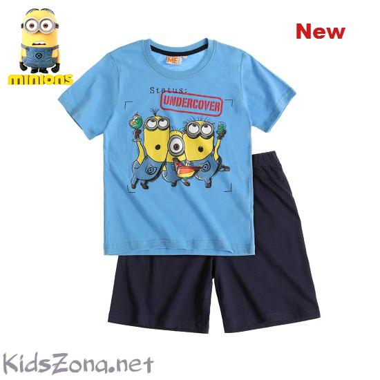 Детска пижама Minions к. р. - М01