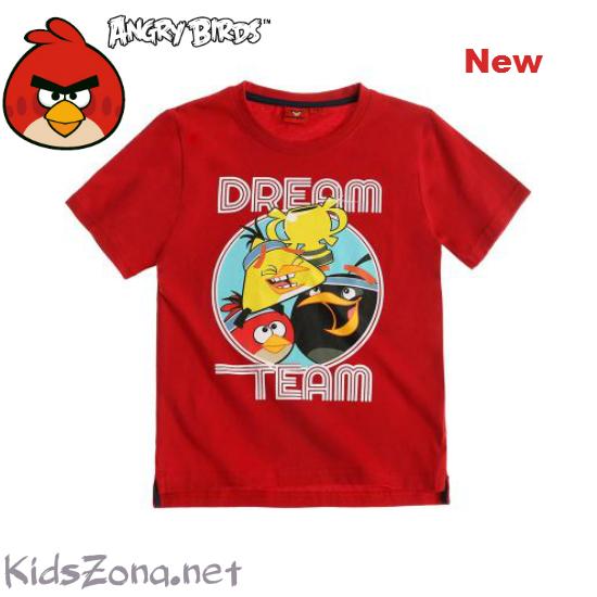 Детска тениска Angry birds - M02
