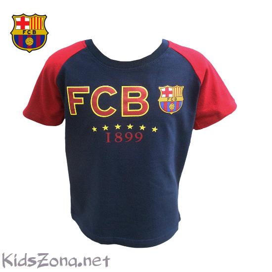 Детска тениска FC Barcelona - М1