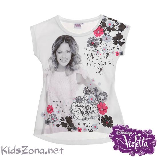 Детска тениска Violetta - M01