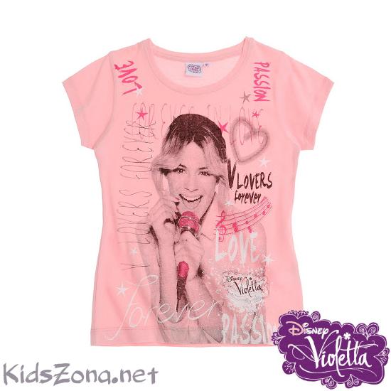 Детска тениска Violetta - M02