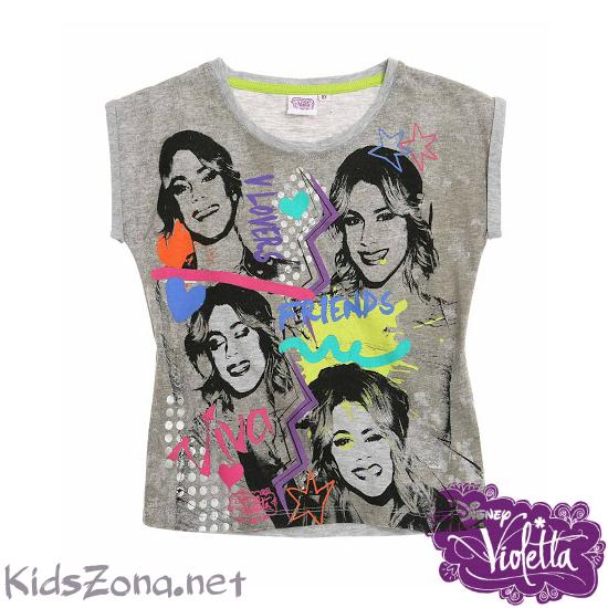 Детска тениска Violetta - M03