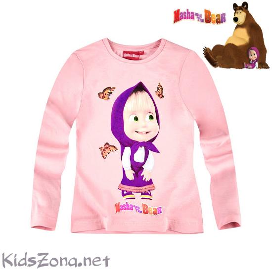 Детска блуза Masha and The Bear - М3