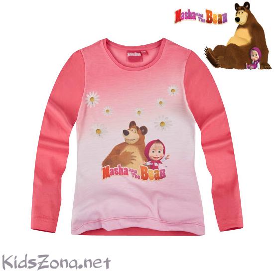Детска блуза Masha and The Bear - М1