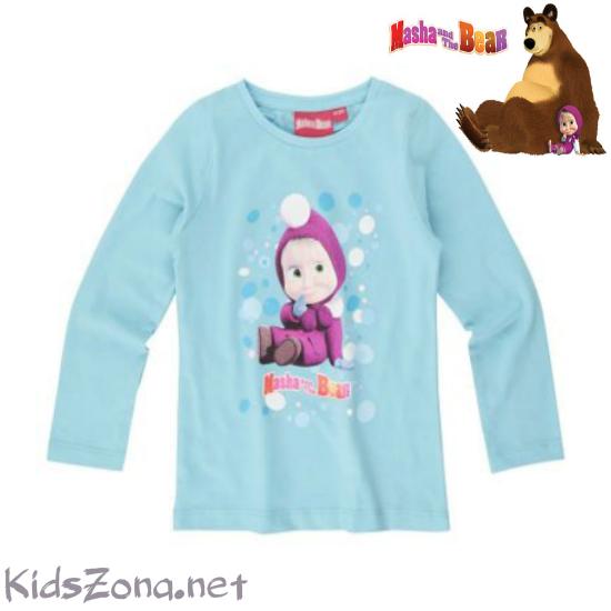 Детска блуза Masha and The Bear - М2