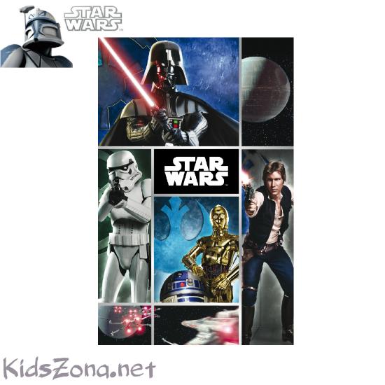 Детско одеяло Star Wars