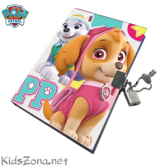 Детски дневник Paw Patrol - M1