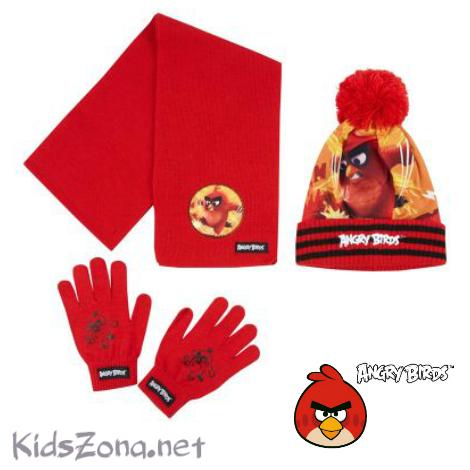 Шапка, шал и ръкавици